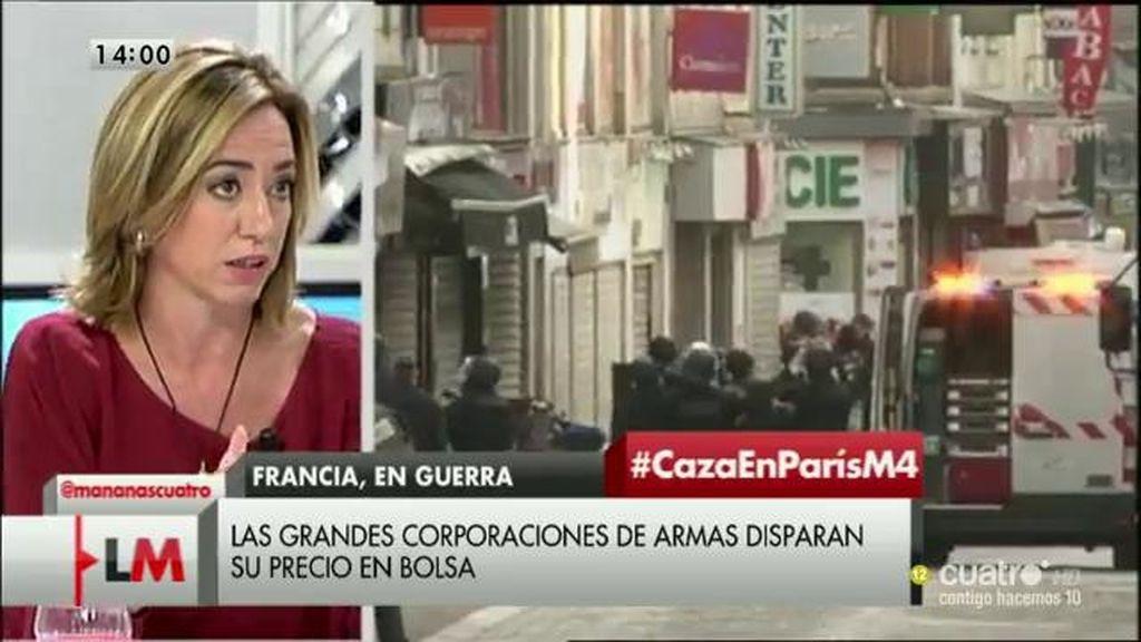 """C. Chacón: """"Tenemos la necesidad de acabar con las fuentes de financiación del ISIS"""""""
