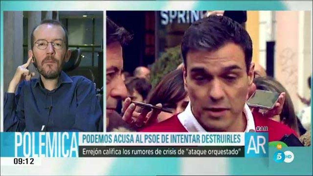 """Echenique: """"Sánchez y Rivera quieren cosas distintas"""""""