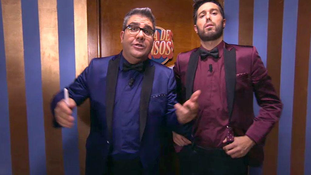 Los presentadores de 'Sopa de gansos': Los 'Pili y Mili' de la comedia