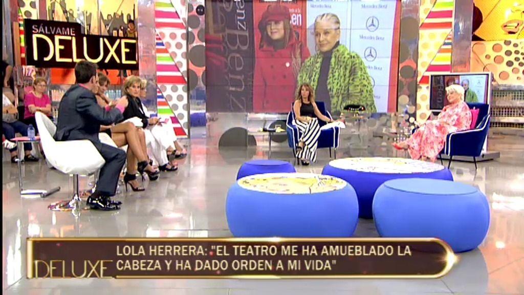 """Lola Herrera: """"El día que mi madre murió yo estaba haciendo una función"""""""