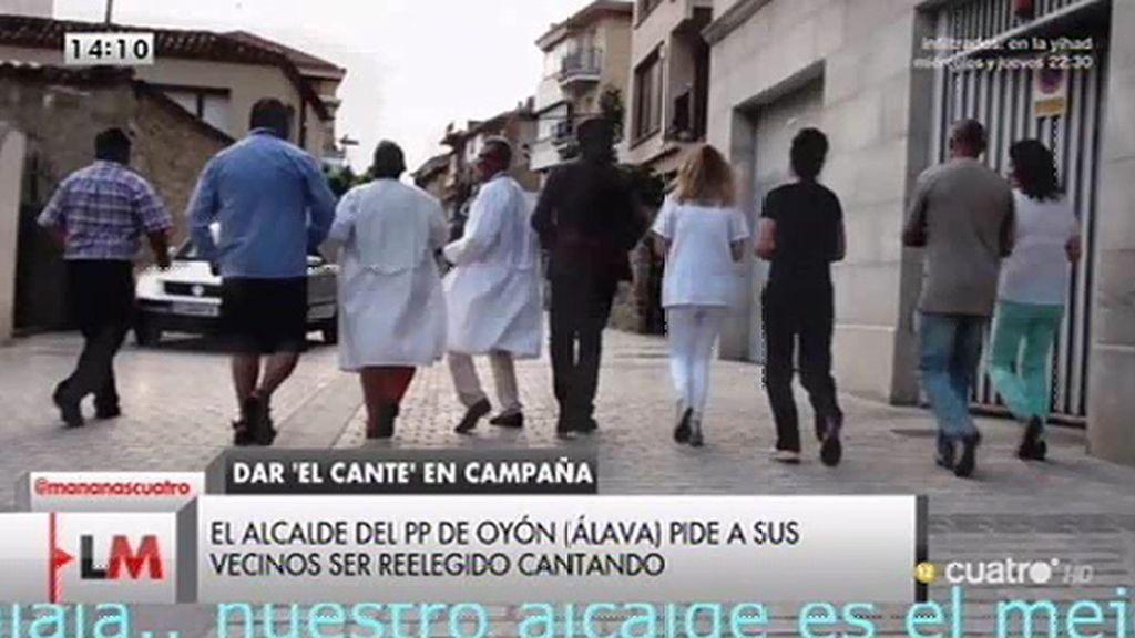 El polémico vídeo de campaña del candidato del PP en Oyón (Álava)