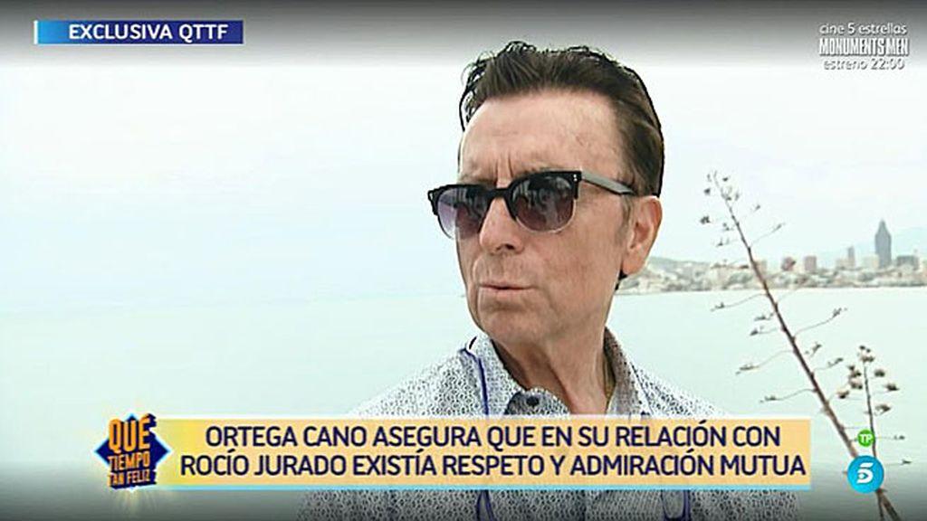 """José Ortega Cano, de Ana María: """"Ella es muy sencilla y natural, me ha conquistado"""""""