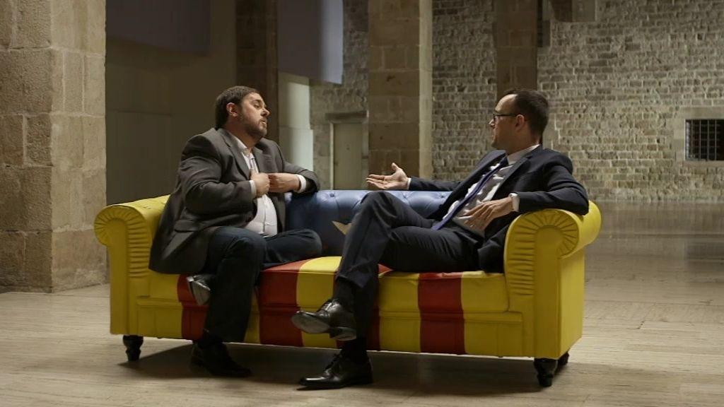 La charla íntegra con Oriol Junqueras