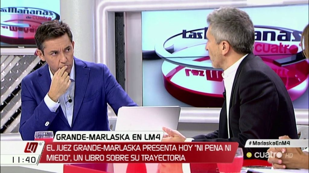 La entrevista en 'Las Mañanas' a Fernando Grande – Marlaska, a la carta