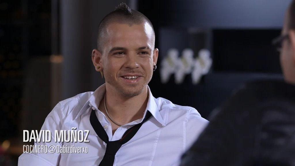 """David Muñoz:  """"De niño, cocinaba guarradas"""""""