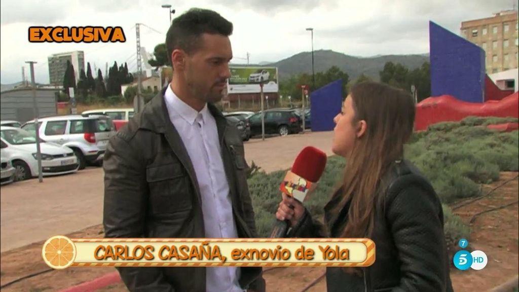 """Carlos Casaña, exnovio de Yola Berrocal: """"Ella se lucraba pero yo no veía un duro"""""""