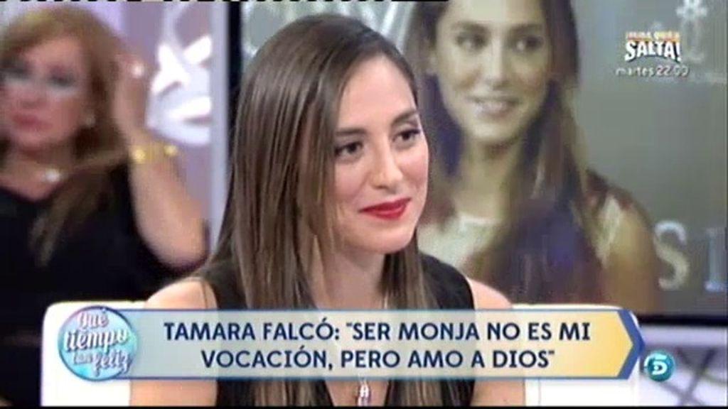 """Tamara Falcó: """"Tengo un director espiritual porque si no me pierdo"""""""