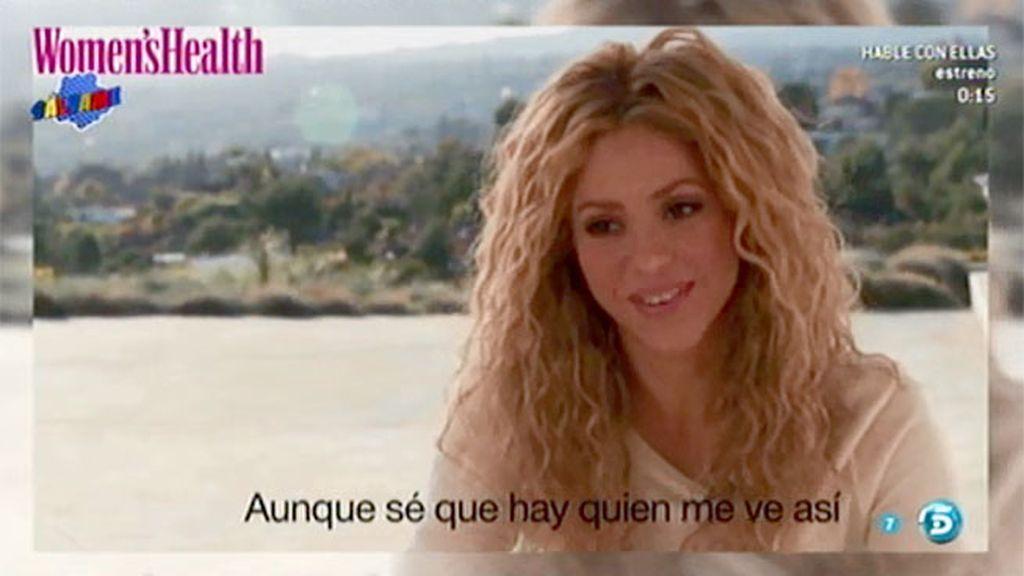 Shakira, portada de 'Women's Health'