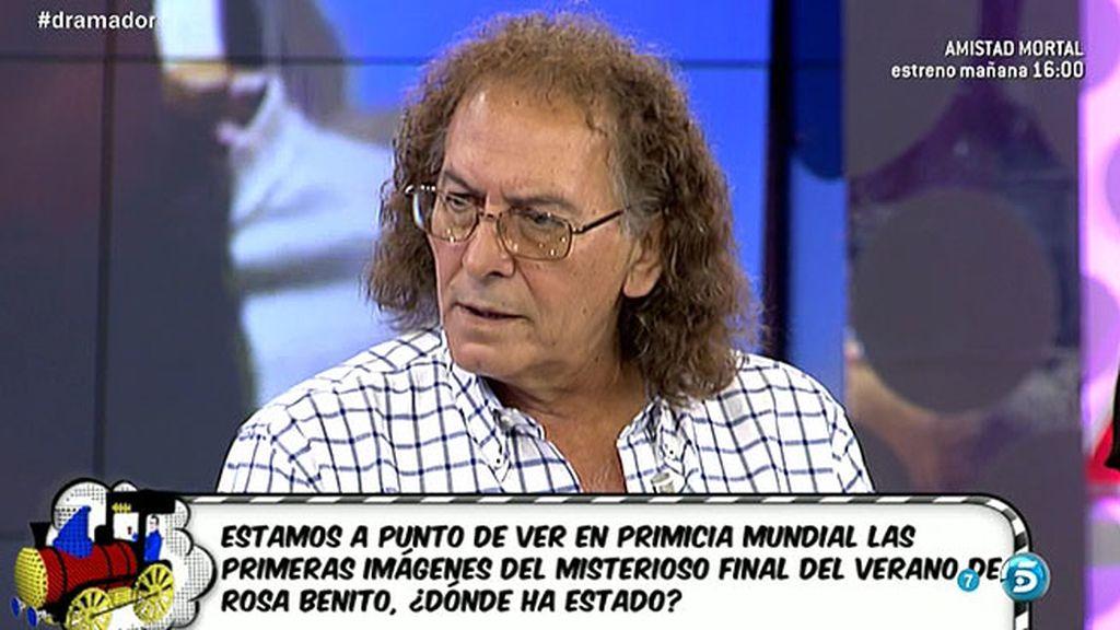 Carmen Moraira recrimina a Tito Cabeza, vía mensaje, que no cuente la verdad