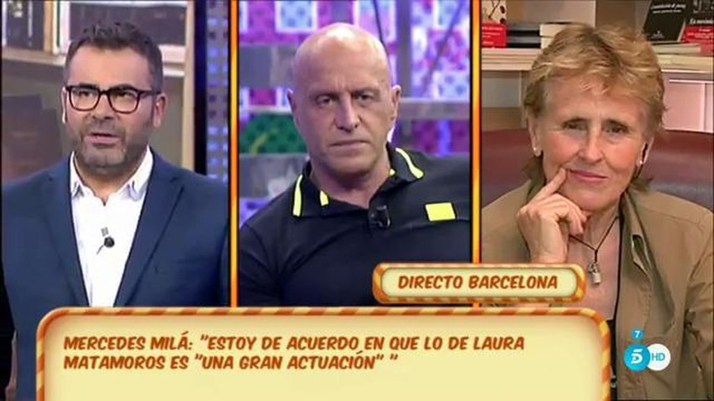 "Mercedes Milá, a Matamoros: ""Tu hija no merece ganar 'GH VIP"""