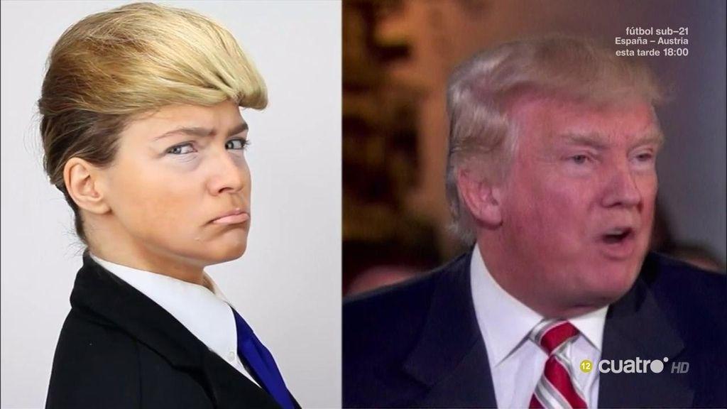 El curso de 'Hazte un selfi' para conseguir el peinado de Donald Trump
