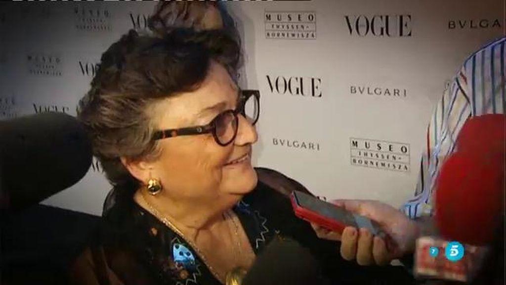 """Elena Benarroch: """"No sé por qué emite comunicados la mujer de Vargas Llosa, lo que hace es alimentar a la prensa"""""""