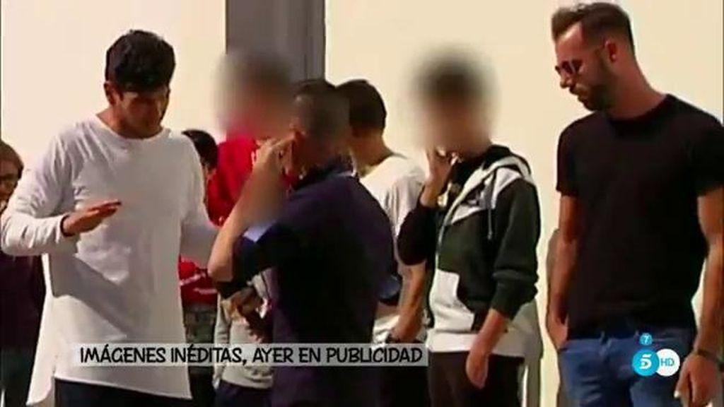 Imágenes inéditas del desencuentro de Alejandro Nieto en 'Sálvame'
