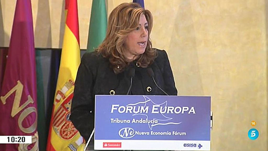 ¿Cómo valora Díaz la dimisión de Aguirre?