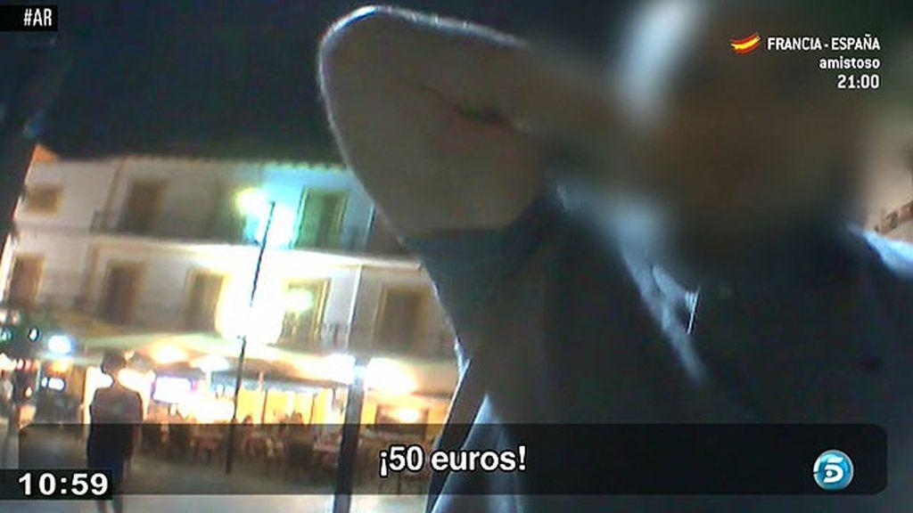 Así funcionan los taxis ilegales en Ibiza