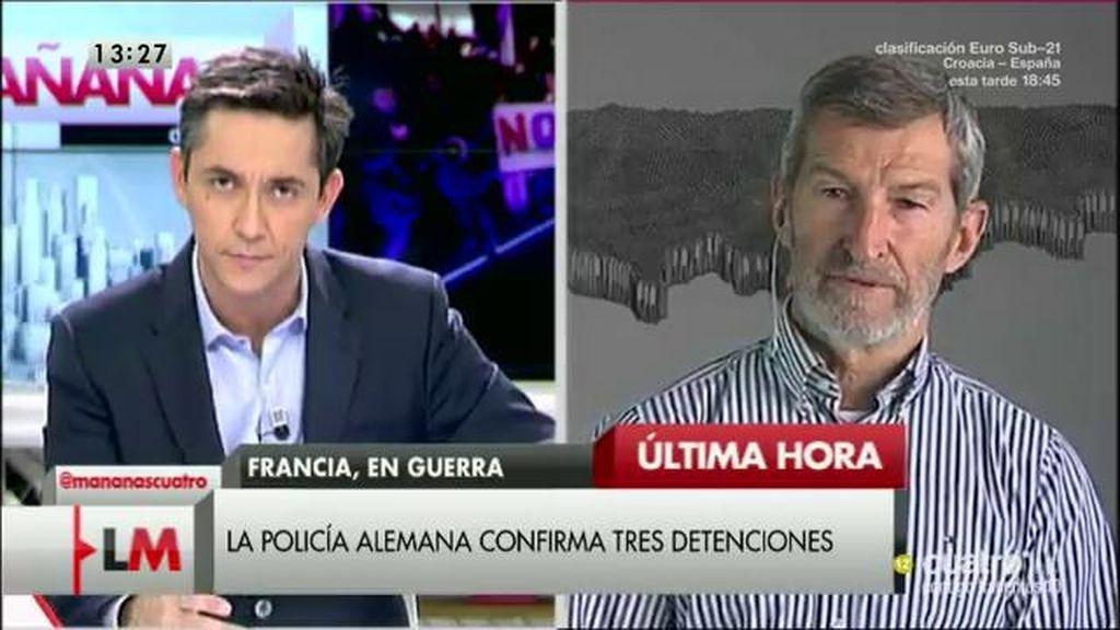 """José Julio Rodríguez: """"Creemos que centrar la estrategia en la vía militar es un fracaso"""""""