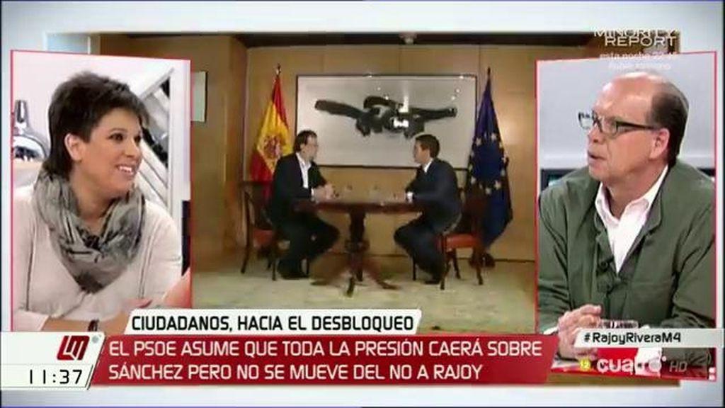 """Beatriz Talegón, sobre las seis condiciones de Rivera: """"Todo es agua de borrajas"""""""
