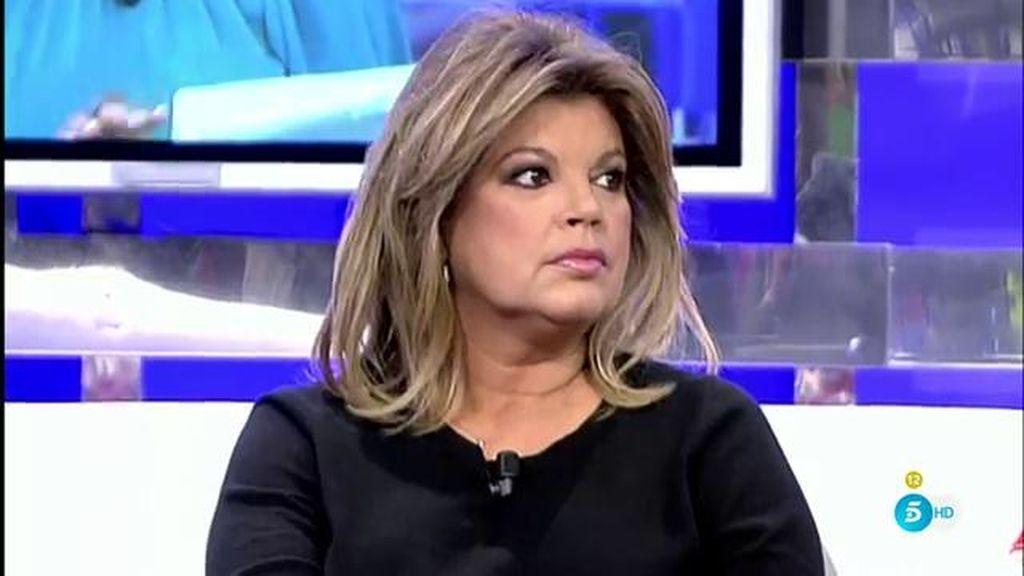 """Terelu Campos, tras la carta de Mila Ximénez: """"Ni siquiera me ha decepcionado"""""""