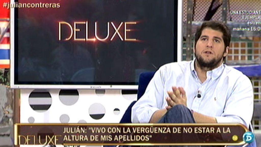 """Julián Contreras: """"Siempre me he sentido un lastre para mi familia"""""""