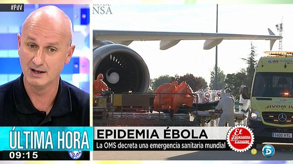 """J. F. Hoyos, de 'Médicos del Mundo': """"Cuando los pacientes se curan hay un periodo de convalecencia en el que pueden contagiar el virus"""""""