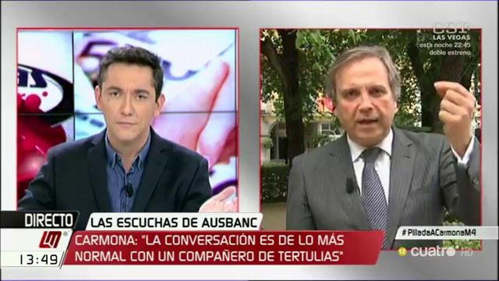 """Antonio Miguel Carmona: """"¿Qué voy a conspirar? ¡Qué barbaridad!"""""""