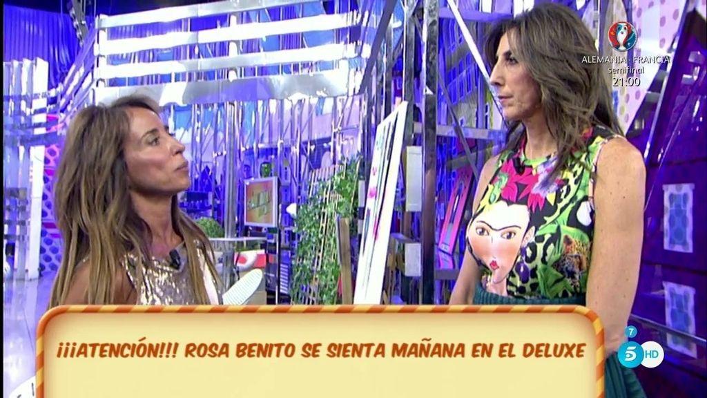 Rosa Benito, en el 'Deluxe'
