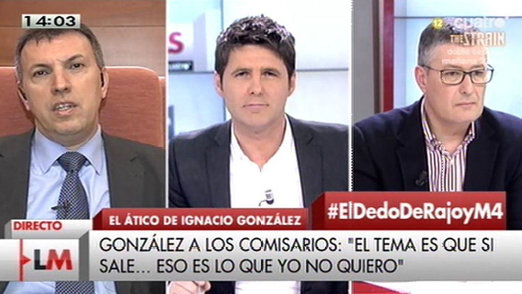 """J.M. Benito: """"Acusar a los policías de chantaje cuando ves que te pillan creo que es lo peor que puede hacer"""""""