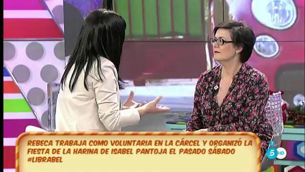 Rebeca, voluntaria de Alcalá de Guadaíra, cuenta cómo fue la despedida de Pantoja