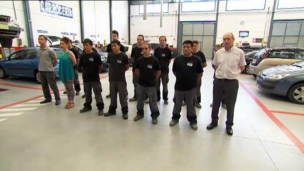 El equipo de 'Nenauto' visita uno de los cincuenta mejores talleres de España