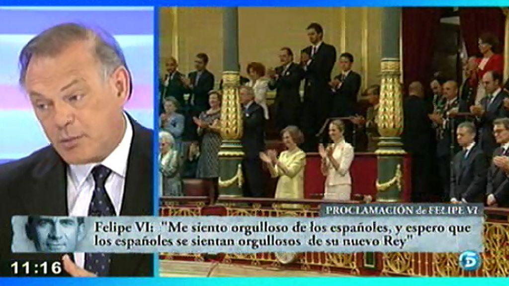 El análisis del discurso del Rey Felipe