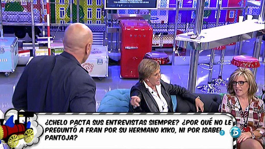 """Kiko Matamoros: """"Esto es una vergüenza Chelo, un petardazo de 'Diario Che"""""""