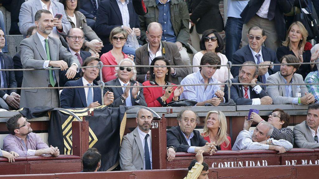 El rey asiste en Las Ventas al primer festejo de San Isidro