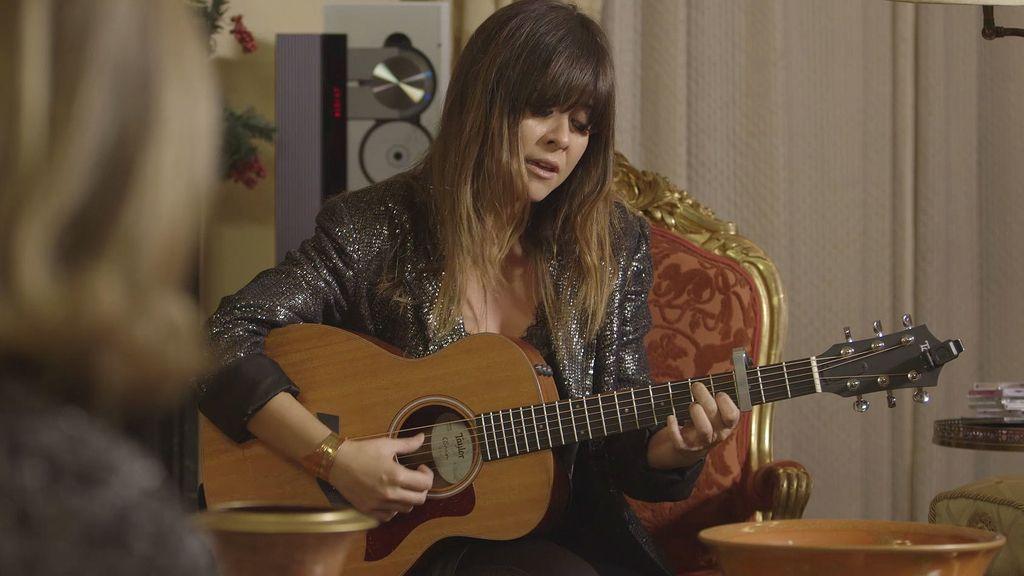 María Teresa Campos se pone romántica con la canción de Vanesa Martín