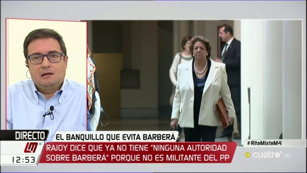 """Óscar López: """"Rajoy tiene razón, le falta autoridad, pero autoridad moral"""""""