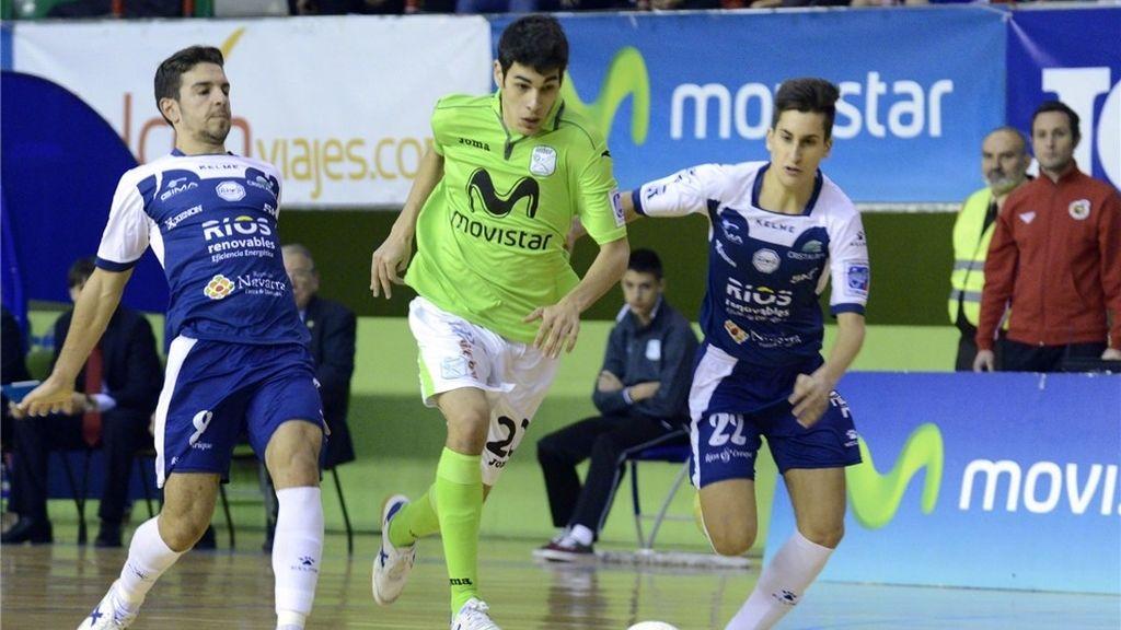 Inter Movistar suma una victoria en lo más alto de la tabla ante Ríos Renovables (7-1)