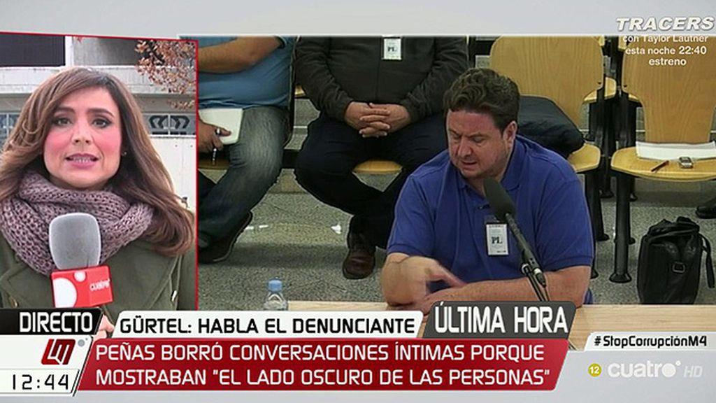 """Peñas omitió grabaciones porque revelaban """"un lado muy oscuro"""" de la trama"""