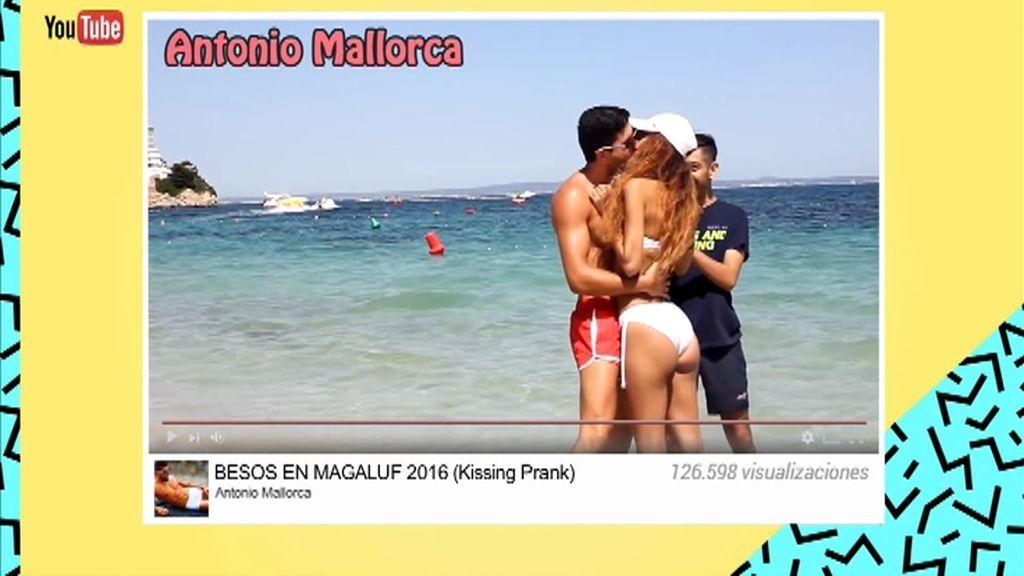 Antonio, el besador profesional que ya ha probado los labios de más de 100  mujeres