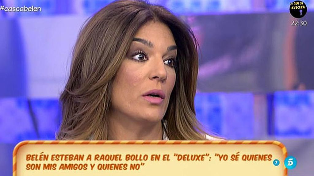 """Raquel Bollo: """"No entiendo por qué Belén se sintió decepcionada conmigo"""""""