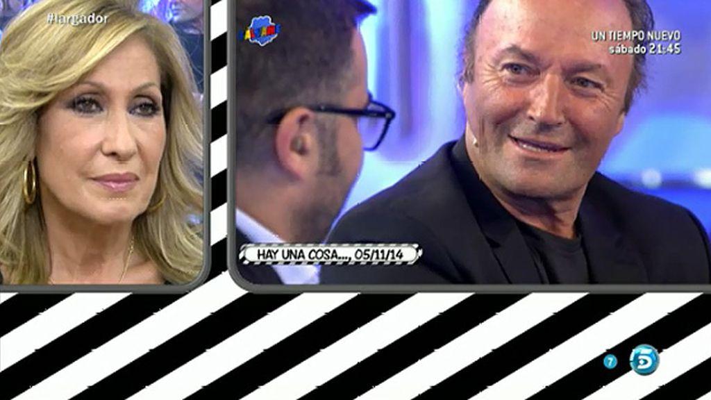 """Rosa Benito, a J.J.: """"Me quedo con la cara de Amador cuando le dices, 'Rosa está aquí"""""""