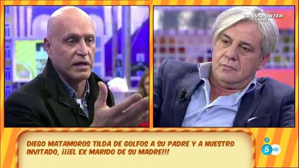 """Diego Matamoros, en Twitter: """"¿Menudos golfos estos dos, también hay un 10%?"""""""