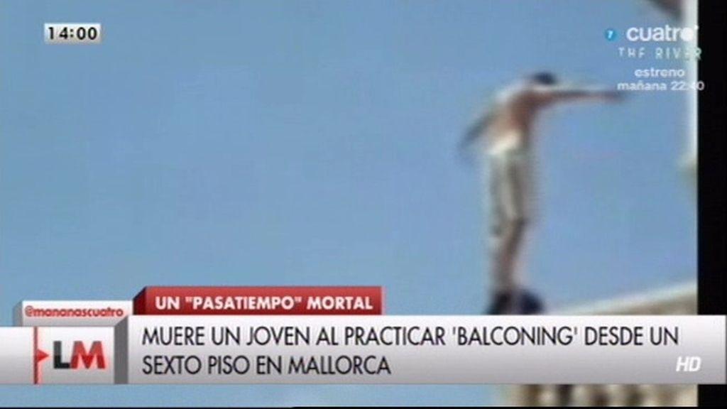 Nueva víctima por 'balconing' en Mallorca