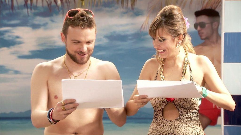 Jonathan y Vanessa se hacen un test de inteligencia en 'Gym Tony'