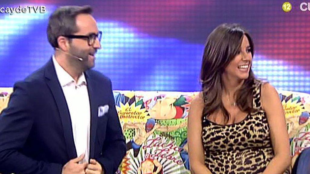 Carmen Alcayde se reencuentra con Jorge Javier Vázquez en 'TVB'