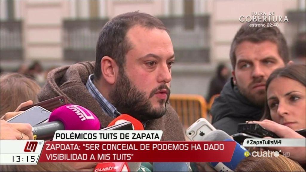 """Primeras palabras de Zapata tras el juicio: """"No es razonable caer en el victimismo"""""""