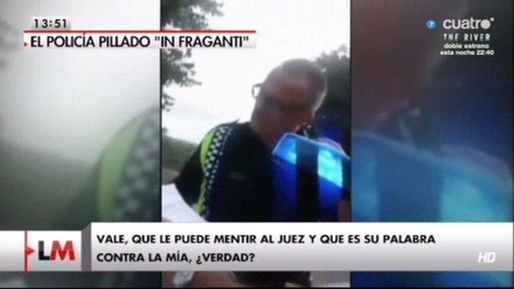 Un policía de Sabadell reconoce que mentiría para justificar una multa