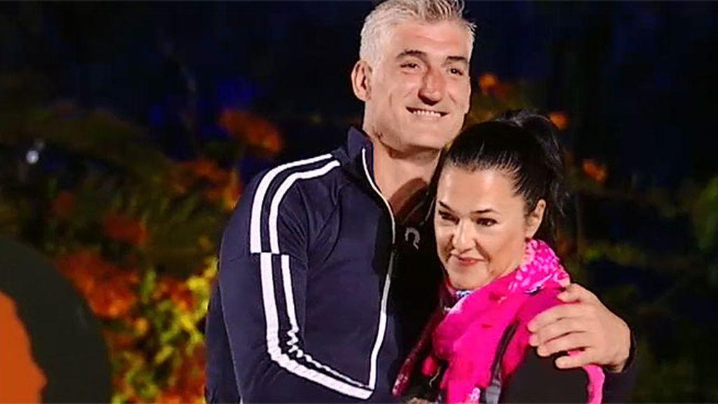 Pedro y Maika, primeros finalistas de 'Ex, ¿qué harías por tus hijos?'
