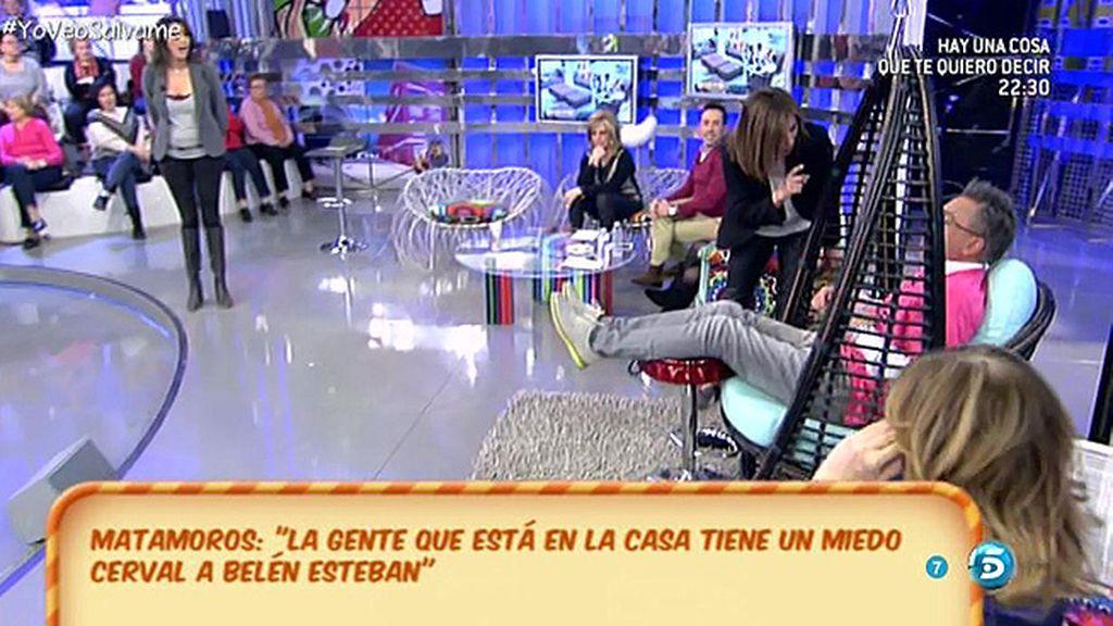 "Kiko Hernández, a Gema López: ""Tira, tira, todo el programa para ti"""