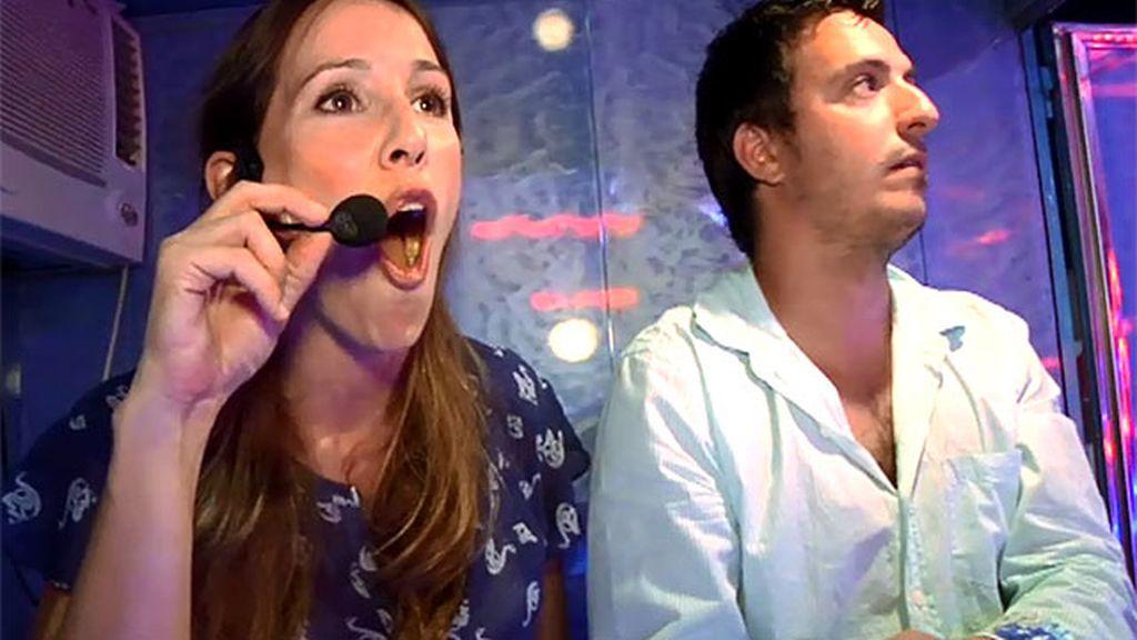 Adela Úcar se convierte en la animadora más entregada de 'La olla loca'