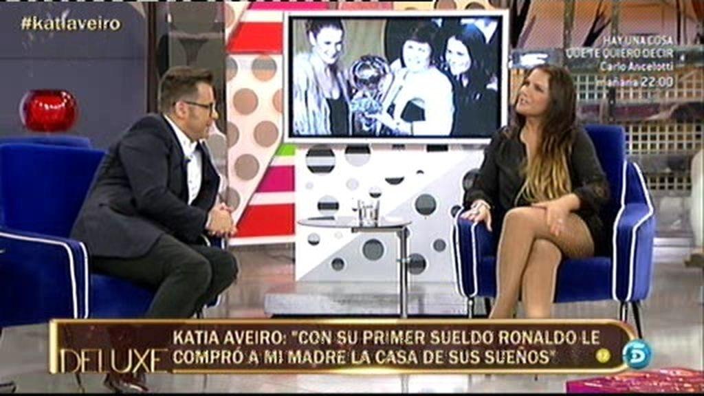 """Katia: """"Cristiano siempre le decía a mi madre que le compraría la casa que merece"""""""