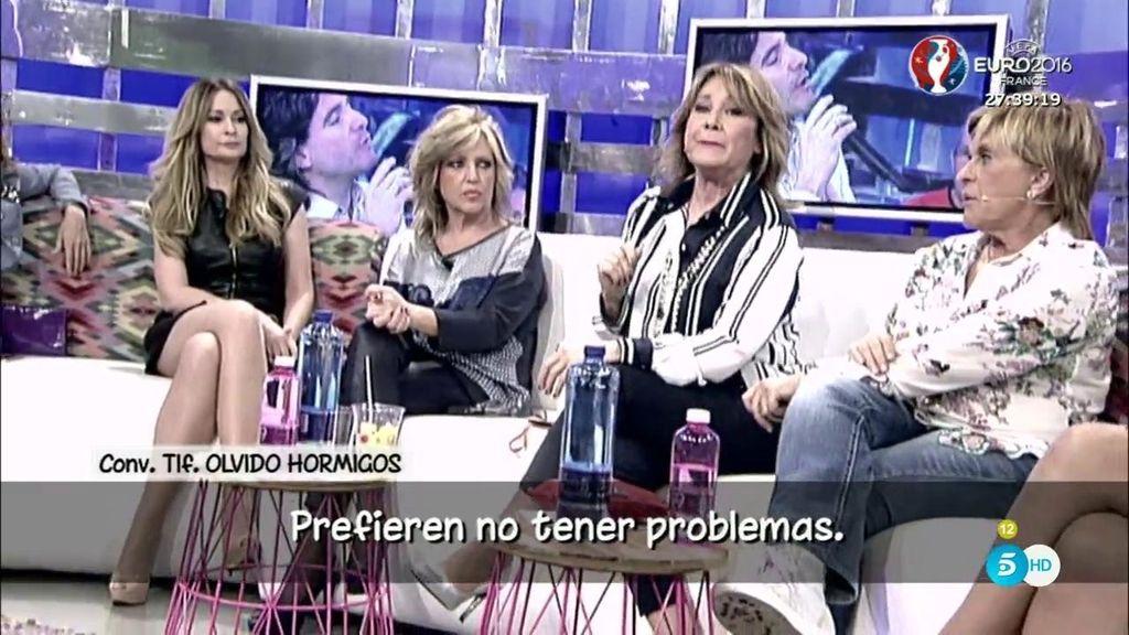 """Hormigos, de la actitud de los colaboradores con Mila: """"Prefieren no tener problemas"""""""